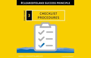 Checklist, Change Management, briefing, Checklisten